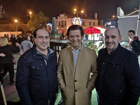 Sérgio Vicente, Salvador Malheiro e António Bebiano