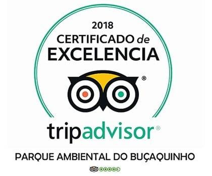 Certificado de Excelência - Parque Ambiental do Buçaquinho